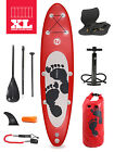 "Entradia III XL Rojo 10'10 x 6"" Inflatable Paddle Board + Deluxe SUP Package"