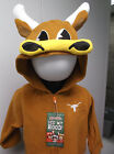 Mascotwear Texas Longhorns Hooded Infant-Toddler Costume Outfit Pajamas New