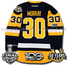 MATT MURRAY PITTSBURGH PENGUINS 2017 STANLEY CUP JERSEY REEBOK 100TH 50TH NEW