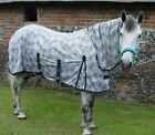 CLEARANCE Royal Spiders Web Combo Fixed Neck Mesh Horse Pony Fly Rug £19.99 !