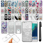 "For Google Pixel XL 5.5"" HTC Ultra Thin Clear Soft Gel TPU Case Cover + Pen"