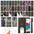 For LG Stylus 2 Plus Stylo 2 Plus MS550 Ultra Thin Clear TPU Case Cover + Pen
