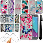 For Samsung Galaxy J3 Emerge J327 2nd Gen Ultra Thin Clear TPU Case Cover + Pen