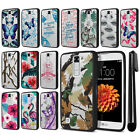 For LG K7 Tribute 5 LS675 MS330/ M1 Hybrid Clear TPU bumper Case Cover + Pen