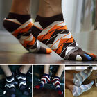 Hot Sale New Men's Women's Socks Cotton Sports Five Finger Socks Toe Socks HF
