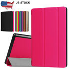 Slim Leather Stand Case Cover Holder For Amazon Kindle Fire HD 8In 2016 Tablet