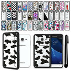 For Samsung Galaxy J3 J310 J320/ J3 V Hybrid Clear TPU bumper Case Cover + Pen