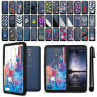 For ZTE Zmax Pro Carry Z981 Hybrid Clear TPU bumper Case Phone Cover + Pen