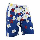 adidas ORIGINALS PHARRELL WILLIAMS DAISY SWIM SHORTS BLUE HAWAIIAN SUMMER SLIM