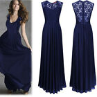 Formal Long Evening Prom Party Bridesmaid Dresses Ball Gown Cocktail Maxi Dress
