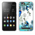 Fashion Slim Flower Pattern TPU Back Rubber Silicone Soft Case Cover For Lenovo