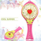 Portable Handheld Air Colling Cooler Fan Summer + Rechargeable 18650 Battery