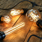 Dimmable Golden Vintage Filament Style LED Festoon Bulbs E27 | Globe Home Indoor