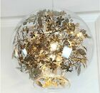 Hot Sell Globe Flower Light Pendant Lamp Chandelier Lighting Fixture Luxury