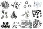 Gun Metal Findings - Various - Jumprings Pins Cord Ends Calottes Chain Earrings