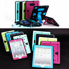 Heavy Shockproof Leather Smart Stand Lot Case Cover iPad  2 3 4 iPad Mini 2 3