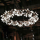 80cm Modern Firefly Round Chandelier Romantic White/Warm Pendant Ceiling Light