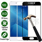 Full Covered 9H Tempered Glass Film Screen Protector Cover For MeiZu Cell Phones