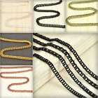 4m Open Link Unfinished Curb Chain Bulk Jewelry Necklace Findings Lots EBCH122