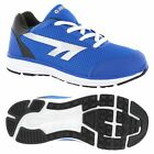 Hi-Tec Pajo Boys Lightweight Running Shoes - Blue / White Comfortable Trainers