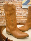 Diego Di Lucca Longhorn Brown Embroidered Leather Western Boot NEW