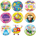 Qualatex Happy Birthday Foil Party Balloons For Kids,Mum,Dad-Party Decoration 1