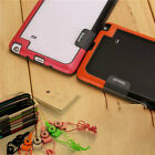 Soft TPU+Plastic Bumper Case With Lanyard For Samsung Galaxy NOTE3 NOTE4 NOTE5