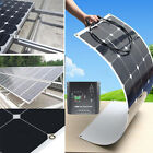 SunPower 100W/200W/300W/400W/500W/1KW Semi Flexible Mono Solar Panel RV Boat