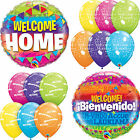 WELCOME HOME Latex & Aluminium Ballons (Qualatex) Fête/Décoration (Hélium)