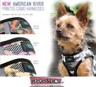 CAMO Ultra Choke American River Free Step In Dog Harness Washable Fabric