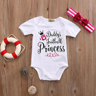 Newborn Kid Baby Girls Clothes Princess Outfits Sets Jumpsuit Romper Playsuit