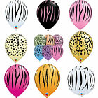 Safari Animal Printed Latex Qualatex Balloons - Birthday Party - Helium/Air