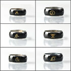 Fashion Japanese Anime Finger Ring Stainless Steel Temperature Change Color Ring