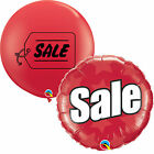 VENTE imprimé Qualatex Latex Géant & Ballon Plat - Promotion, Point De Vente
