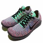 New Nike Women's Free RN Flyknit Athletic Shoe Various Colors 831070-108 ** 7.5