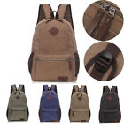 Men's Canvas Satchel Shoulder Bag Messenger Bag Travel Backpack Vintage NEW Fast