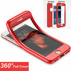 New 360 Full Cover Silicone Phone Bag For iPhone 6 7P TPU ShockProof Case O0074