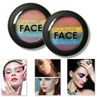Women Shimmer Highlighter Powder Face Brightener Facial Makeup Rainbow Color Hot