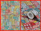 Arthouse Marseille Wallpaper - Cute Houses Wallcoverings - Paste The Wall 663000