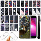 "For LG X Power 2 LV7 5.5"" Ultra Thin Clear TPU Soft Case Phone Cover + Pen"
