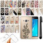 "For Samsung Galaxy J1 Mini Prime J106 4"" Clear TPU Soft Case Phone Cover + Pen"