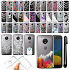 "For Motorola Moto G5 5"" Ultra Thin Clear TPU Soft Case Phone Cover + Pen"