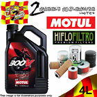 4L MOTUL 300V 15W50 OIL AND HIFLO HF204 FILTER TO FIT VEHICLES IN DESCRIPTION 1