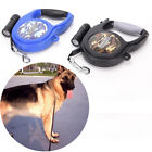 New 26ft Large Dog Retractable Extending Pet Leash Lead Traction Rope with LED #