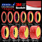 """Genuine 3M VHB # 4905 Clear Double-Sided Tape 1/4"""" 5/16"""" 7/16"""" 1/2"""" 1"""" 1.5"""" 2"""""""