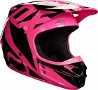 Fox Racing ADULT V1 Race Helmet Pink MX ATV Moto Enduro Off Road Riding