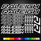 Raleigh Vinyl Decals Stickers Sheet Bike Frame Cycle Cycling Bicycle Mtb Road