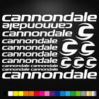 Cannondale Vinyl Decals Stickers Sheet Bike Frame Cycle Cycling Bicycle Mtb Road