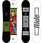 Ride Crook Snowboard All Mountain Freestyle Rocker Men's 2017 NEW