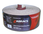 ABRACS 115mm E-Weight Resin Coated Red Sandpaper Rolls Various Grits & Lengths